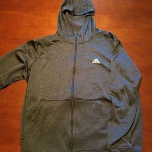 Dark Grey Adidas Hoodie